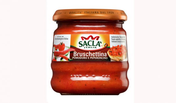 BRUSCHETTINA Z PAPRYKĄ CHILLI