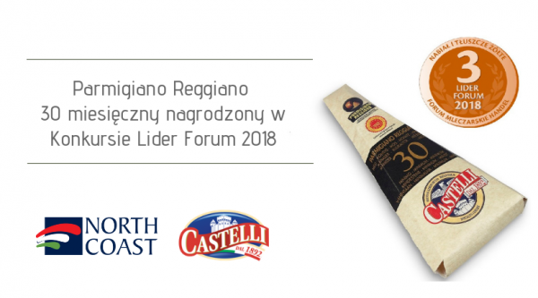 PARMIGIANO REGGIANO 30 MONTHS AWARDED IN THE LEADER FORUM 2018 COMPETITION