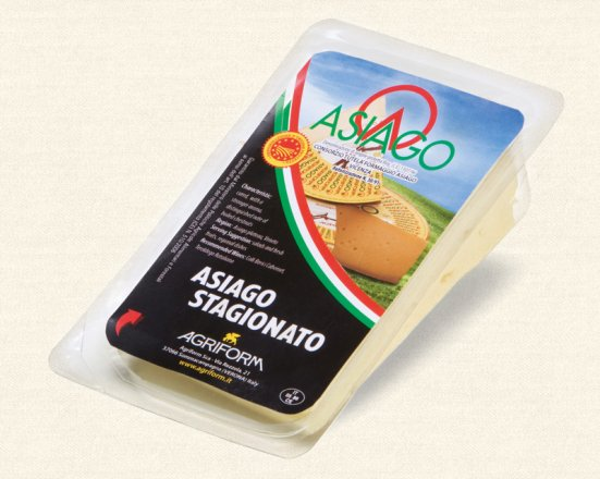 Asiago Stagionato Flex Disp 180g